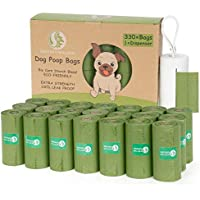 330-Count Greener Walker Dog Waste Bags with Dispenser