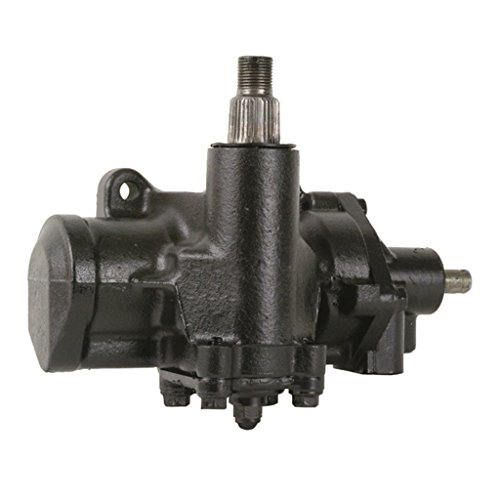 Detroit Axle - Complete Power Steering Gear Box Assembly - for w/32 Splines & 4 Blanks on Sector Shaft - CHECK YOURS BEFORE ORDERING