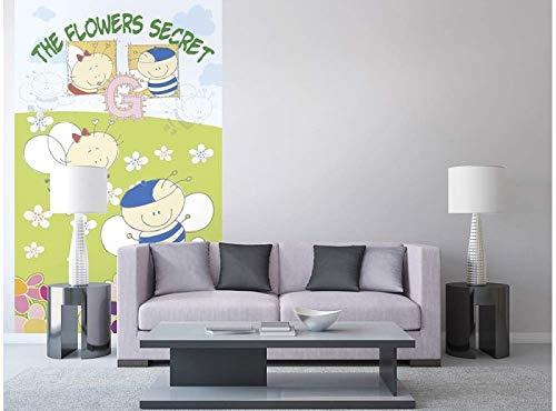 Vlies Fotobehang BABY BIJEN | Niet-Geweven Foto Mural | Wall Mural - Behang - Reusachtige Wandposter | Premium Kwaliteit - Gemaakt in de EU | 150 cm x 250 cm