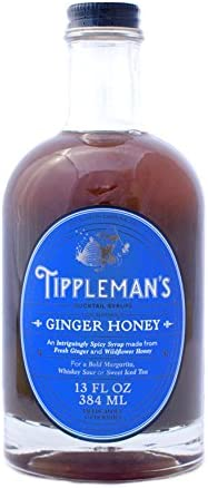 Tippleman s Ginger Honey Syrup 13 oz product image