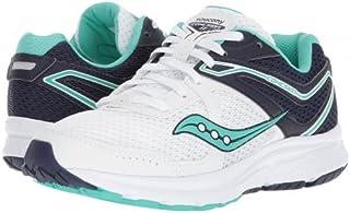 Saucony(サッカニー) レディース 女性用 シューズ 靴 スニーカー 運動靴 Cohesion 11 - White/Navy/Teal [並行輸入品]