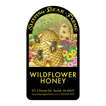 Florida Wildflower Honey Bulk Bake N Brew – 1 Gallon – 12lbs. - Mead Making Honey - Beer Honey - Cooking Honey - Bulk Honey for Homebrewing and Cooking