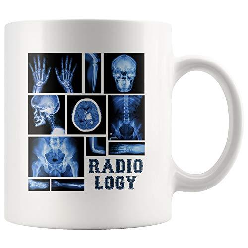 Funny Radiology X Ray Tech Kaffeetasse, 325 ml, Radiologie-Tech-Becher, Diagnostik-Radiologie, X-Ray-Tech-Geschenk