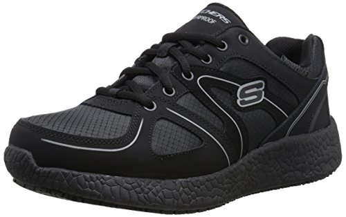 Skechers for Work Men's Burst SR Work Shoe,Black,9 M US