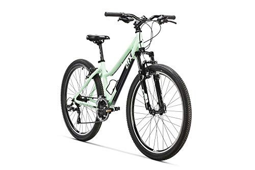 AFX Bicicleta MTB 26', Aquitania, Color verde claro