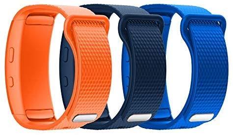 YSSNH Kompatibel für Samsung Gear Fit 2 Armband Ersatz Weiches Silikonzubehör Riemenersatz Uhrenarmband für Samsung Gear Fit2 Pro SM-R365 / Gear Fit2 SM-R360 Sports Fitness