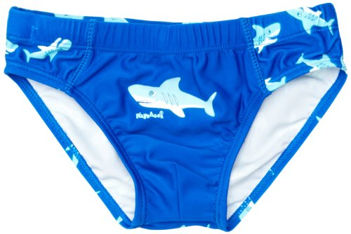 Playshoes Jungen UV-Schutz Hai Badehose, Blau (original), 98/104