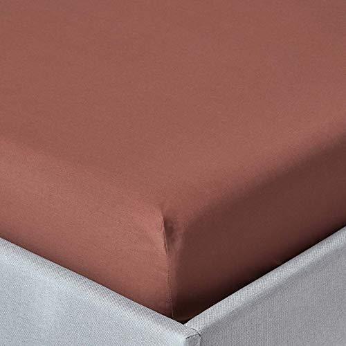 """Taie d/'oreiller paire percale ménagère plain poly coton standard 19/"""" x 29/"""""""