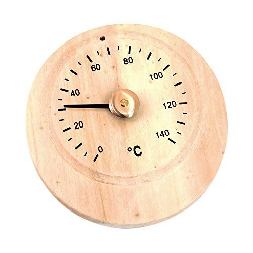 Xploit Saunathermometer Hygrometer Holzsauna Zubehör Wand-Temperaturmesser für Saunaraum