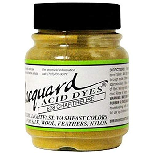 Jacquard Acid Dyes 1/2 Ounce-Chartreuse by Jacquard