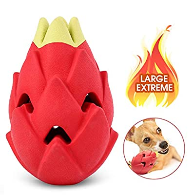 Amazon - Save 50%: Stawberry/Pitaya Dog Chew Toys for Aggressive Chewers – Dog Toothbrus…