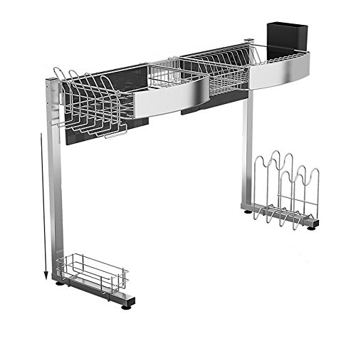LiuJianQin CFZWJ Racks de Cuisine/Acier Inoxydable/Fournitures de Cuisine Rack de Stockage/Vaisselle Rack de Stockage (Taille : 76 * 31 * 60CM)