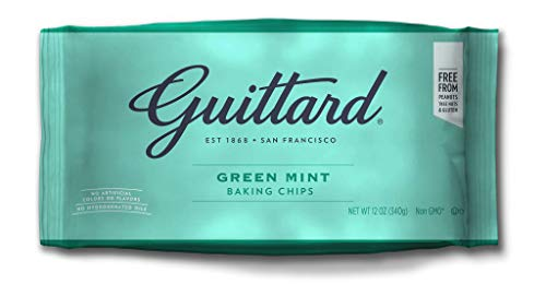 Guittard Green Mint Baking Chips 12oz Bag