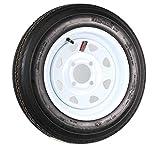 Martin Wheel AMRM-DM412B-4I 4.80 x 12 Trailer Tire & Rim Assembly 480 Series 4 Lug