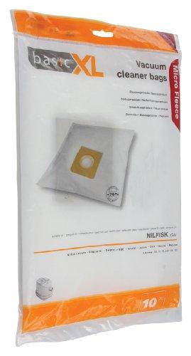 basicXL BXL-51552 Staubbeutel für Nilfisk GM