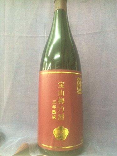 西酒造 「宝山 梅乃酒 三年熟成」 (ほうざん うめのさけ さんねんじゅくせい) 12度1800ml 人気の焼酎蔵元の梅酒