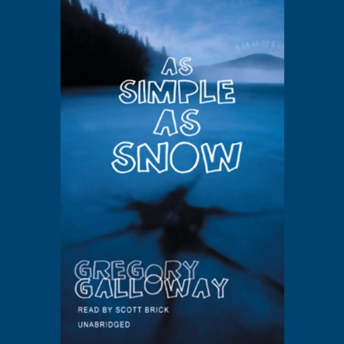 As Simple as Snow audiobook cover art