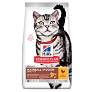 Hill's Science Plan Adult Hairball & Indoor Chicken Economy Pack 2 x 10kg is a complete food for adult cats Hill's Science Plan Adult Hairball & Indoor Chicken contains innovative fibre technology that helps to support the digestive tract and encoura...