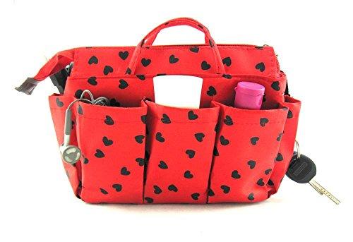 Periea Handtaschen-Organiser Geldbeutel-Einsatz 13 Fächer 4 Farben - Sash