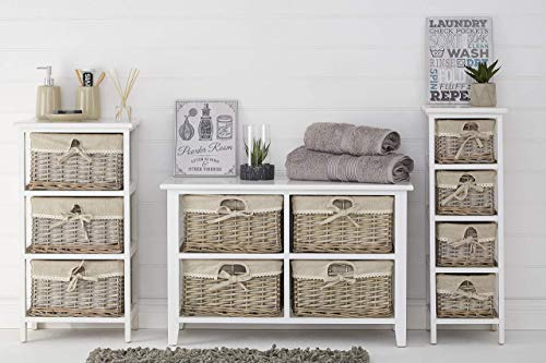 Premier Housewares 2800765 Powder Room Wall Plaque - Grey 1x20x25 cm steampunk buy now online