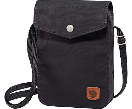 FJÄLLRÄVEN Greenland Pocket Backpack, Unisex Adulto, Negro (Black), 22 cm