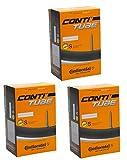 Continental 3x Fahrrad Schlauch Cross 287003247Presta 60mm Ventil