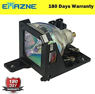 Emazne ELPLP19/V13H010L19 Projector Replacement Compatible Lamp With Housing For Epson EMP 52 Epson EMP 30 Epson EMP 30 (Silver) Epson EMP 32 Epson PowerLite 52c Epson PowerLite 30c Epson Powerlite 32