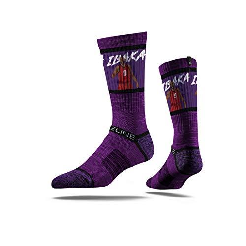 Strideline NBA Toronto Raptors Serge Ibacka Action - Calcetines de deporte (talla única), color negro