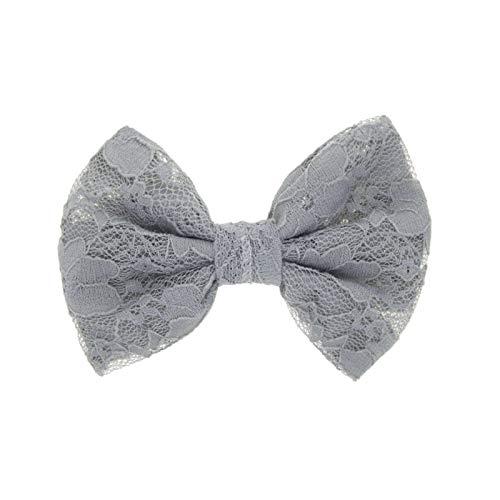 Covermason Pince à cheveux noeud pour enfants papillon (Bleu marine)