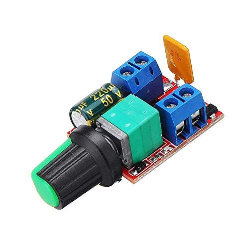 Chenbz Auto-installing Combination DC 3V To DC 35V 5A 90W Mini DC Motor PWM Speed Controller Module Speed Regulator Adjustable Light Modulator Electronic Switch Module Board