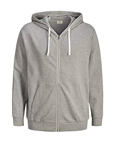 JACK & JONES Male Sweatshirt Bequemer MLight Grey Melange