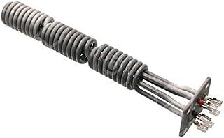 Radiador Diámetro 40mm de largo 305mm 240V 8000W 3Círculos de calor Distancia entre orificios 44,9mm Conector Longitud 23mm con diámetro de 10mm