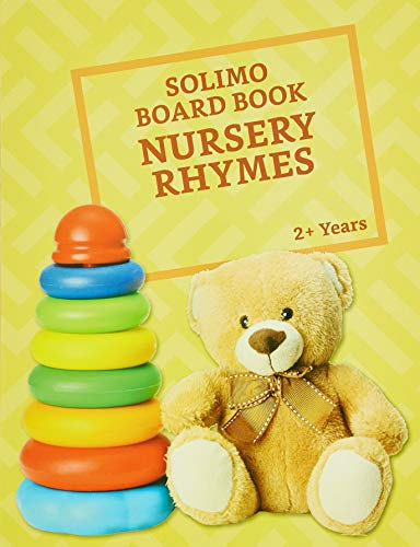 Amazon Brand - Solimo Long Board Book, Nursery Rhymes