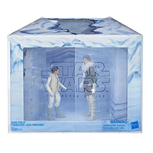 Star Wars Black Series Princess Leia und Han Solo Hoth Set
