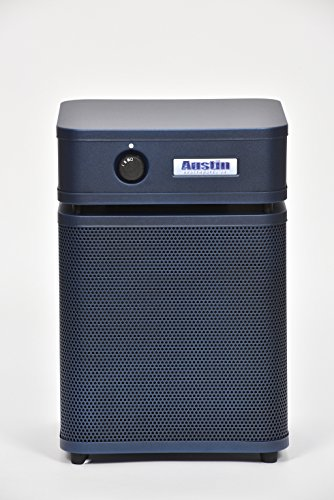 Austin Air A250E1 HealthMate Plus Junior Air Purifier, Midnight Blue