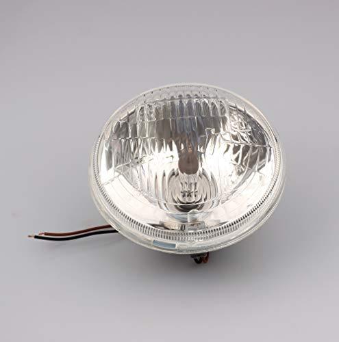 """Reflektor Lampe Scheinwerfer passend für Simson S50 S51 S53 S70 S83 H4 Einsatz 5"""" 130/140 mm"""