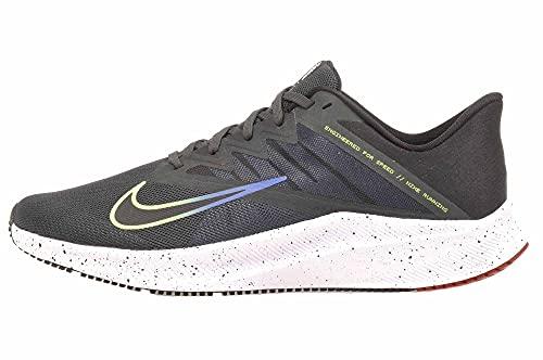 Nike Zapatillas de running para hombre, Dk-Smoke Gris/Black-Smoke-Game Royal, 45.5 EU