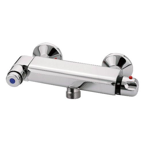 Duscharmatur mit Thermostat, zeitgesteuert / selbstabschaltend