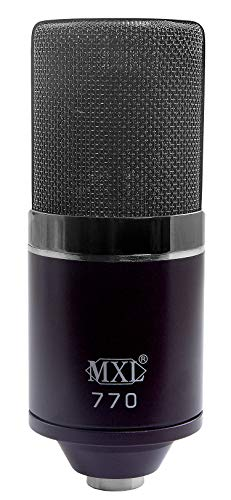 MXL Mics Condenser Microphone, 770 MIDNIGHT (MXL770MIDNIGHT)