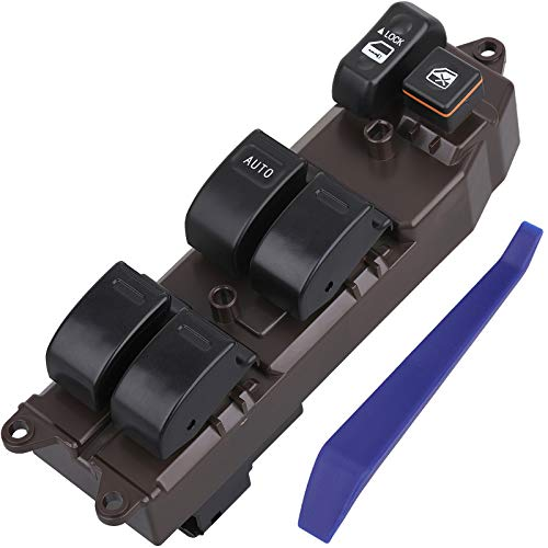84820AA070 Driver Side Power Window Switch, Compatible with 2002-2006 Toyota Camry, 2003-2008 Corolla/Matrix, 2004-2009 Sienna, 05-07 Tacoma and Scion xA/xB, Replace 84820AA050,8482001021