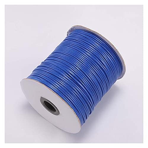 CHUNMA 10m / Lote 22 Línea de Cuero de Color Cuerda de algodón de algodón Cuerda de algodón Cuerda de la Correa de la Cuerda para la joyería Que Hace Bricolaje Suministros de Pulsera