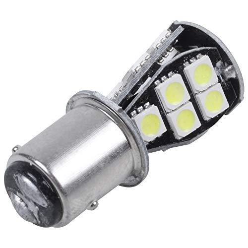 Gesh 1157 P21W BAY15D 5050 18 SMD LED luz de freno trasera bombilla blanca