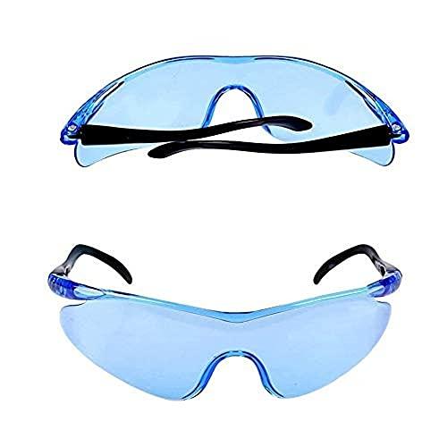 XLKJ 6 Pcs Gafas Protectoras, Lentes de Seguridad, Gafa de Protección para Niños Adultos, Gafas Protectoras de Trabajo para Deportes y Actividades al Aire Libre Juego