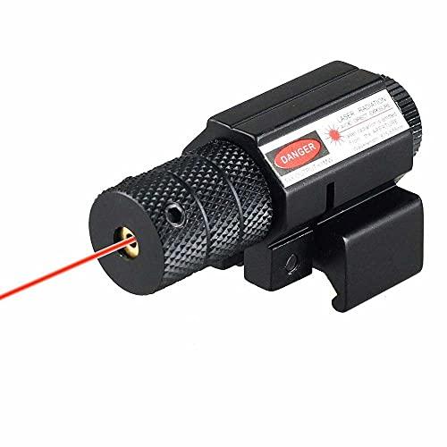 ATIN Red Laser Dot Sight Scope+Air Gun Rifle Pistol 20mm Rail Mount...
