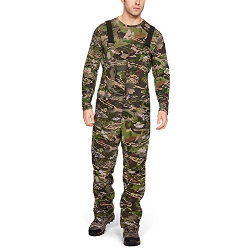 Under Armour Men's Grit Bib, USA Forest Camo, Small