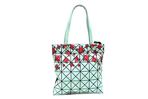 Naj Oleari Borsa donna l.Kyoto 61380 mod. shopping a spalla turchese