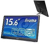 iiyama Prolite X1670HC-B1 Pantalla para PC 39,6 cm (15.6') 1920 x 1080 Pixeles Full HD LED Negro
