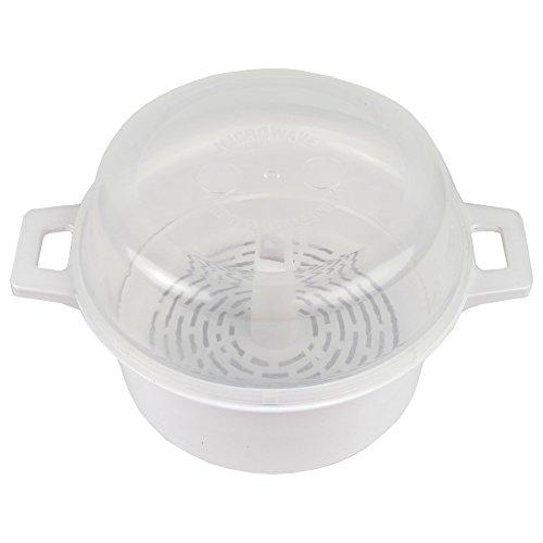 Home-X Microwave Round Steamer Set