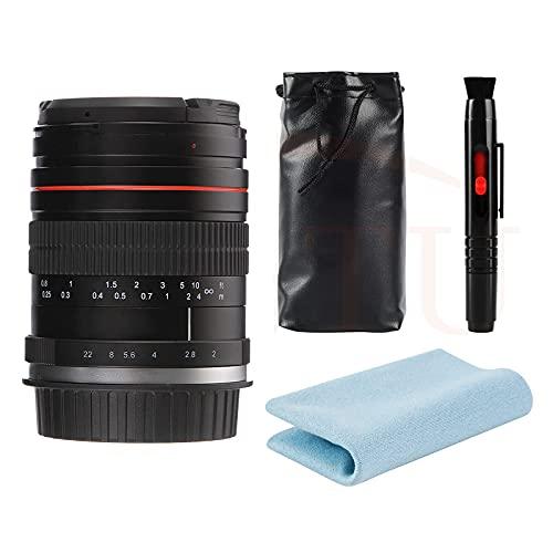 JINTU Objetivo gran angular F2.0 de 35 mm con distancia focal fija MF para retratos compatibles con cámara Nikon D5600 D780 D850 D3100 D3200 D3300 D3400 D90 D5100 D5200 D5300 D55000 D7500 D7200