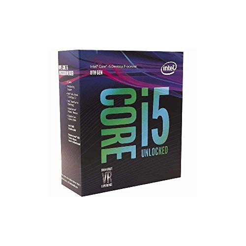 Intel Core i5-8600K - Procesador (up to 4.30 GHz, 8ª generación de procesadores Intel Core i5, 3,6 GHz, LGA 1151 (Socket H4), PC, 14 nm, 9MB Smart Cache)